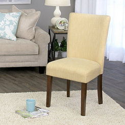 Daisy Yellow Dining Parsons Chair