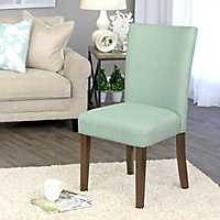 Aquamarine Blue Dining Parsons Chair