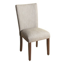 Tweed Gray Dining Parsons Chair