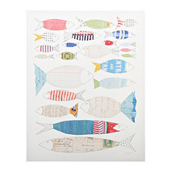 Big Fish Little Fish Canvas Art Print