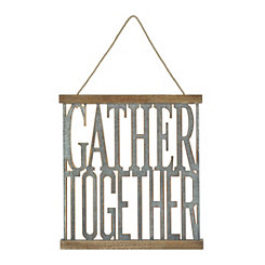 Gather Together Wall Plaque