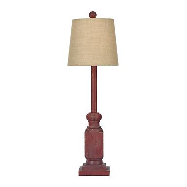 Red Blayne Buffet Lamp. Lamps for Sale   Kirklands