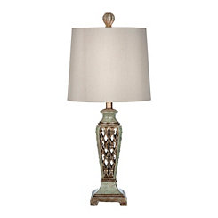 Key Lime Germantown Table Lamp