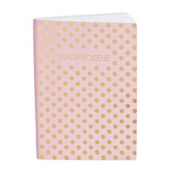 Mademoiselle Dot Faux Leather Journal