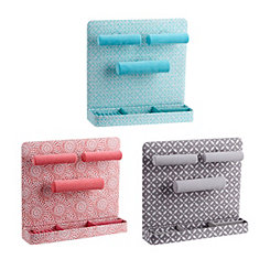 Patterned Wall Mounted Jewelry Organizers