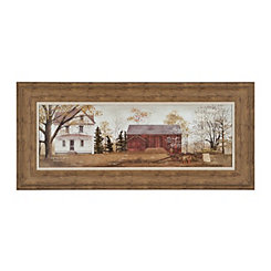 Sienna Farmhouse Framed Art Print