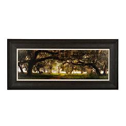 Southern Charm Landscape Framed Art Print