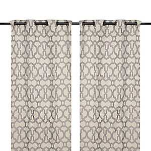 Black Pearl Teemu Curtain Panel Set, 108 in.