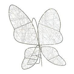 Pre-Lit Butterfly Easel