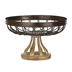 Cutout Geometric Decorative Bowl