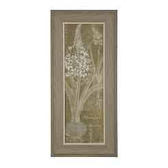 Floral Lines I Framed Art Print