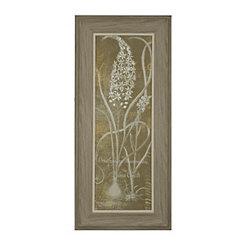 Floral Lines II Framed Art Print
