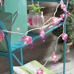Pink Flamingo String Lights