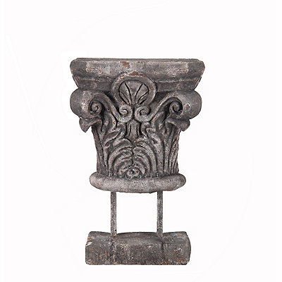 Gray Ceramic Finial