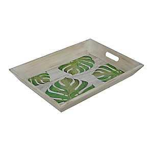 Palm Leaf Decorative Tray