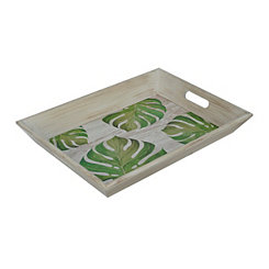 Palm Leaf Decorative Tray