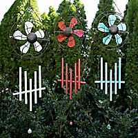 Industrial Fan Wind Chimes