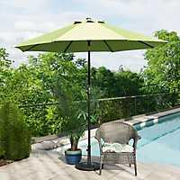 Citron and Bronze Patio Umbrella