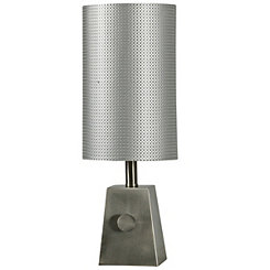 Brushed Steel Mini Table Lamp