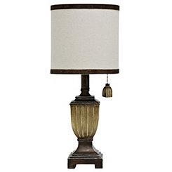 Traditional Espresso Urn Mini Table Lamp
