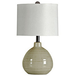 Cool Gray Table Lamp