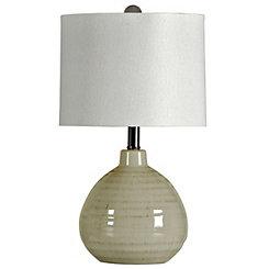 Cool Gray Table Lamp