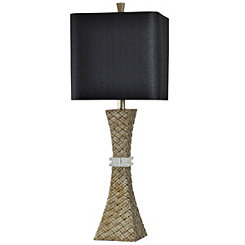 Basket Weave Table Lamp
