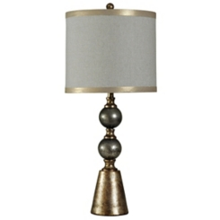 Gold Cold River Table Lamp