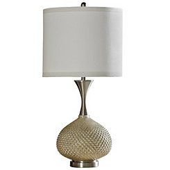 Gold Cut Glass Table Lamp