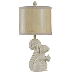 Squirrel Novelty Table Lamp