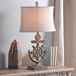 Natural Anchor Table Lamp