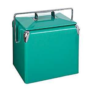 Retro Turquoise Cooler