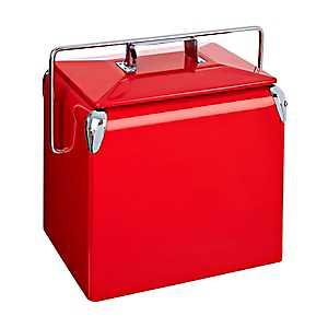 Retro Red Cooler
