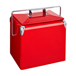 Retro Red Cooler