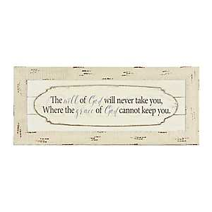 Will Of God Wall Plaque