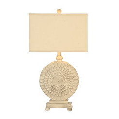 Ivory Sundance Table Lamp