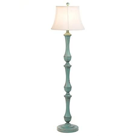 Hadley Turquoise Floor Lamp Kirklands