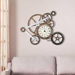 Chance Gear Wall Clock