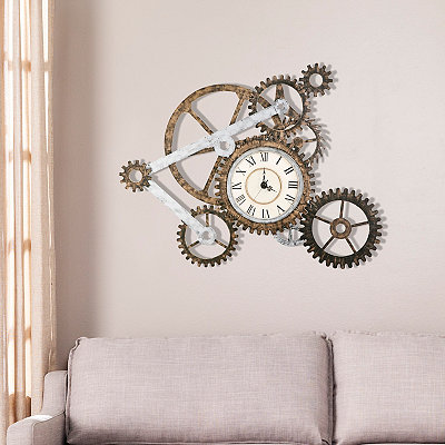 Chance Gear Wall Clock