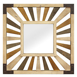 Gigi Wood Wall Mirror