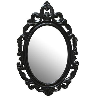 Baroque Wall Mirror white baroque wall mirror | kirklands