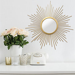 Gold Bella Wall Mirror