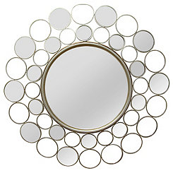 Champagne Kimberly Wall Mirror