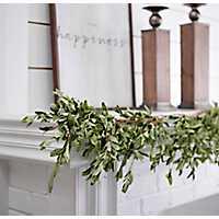 Olive Leaf Garland, 5 ft.