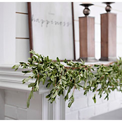 Olive Leaf Garland, 5 ft.