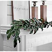 Magnolia Leaf Garland, 6 ft.