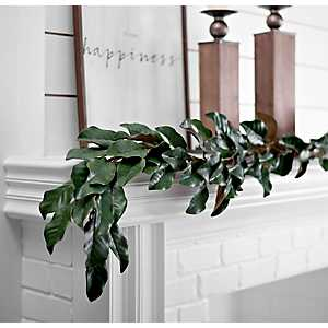 Magnolia Leaf Garland, 6 ft.