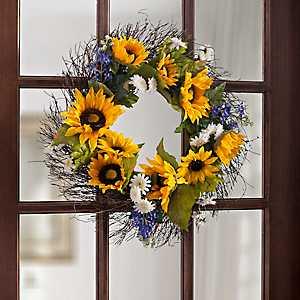 Sunflower Mix Wreath