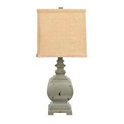 Dusty Blue Table Lamp