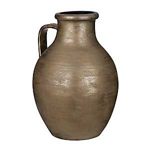 Brushed Gold Pitcher Vase